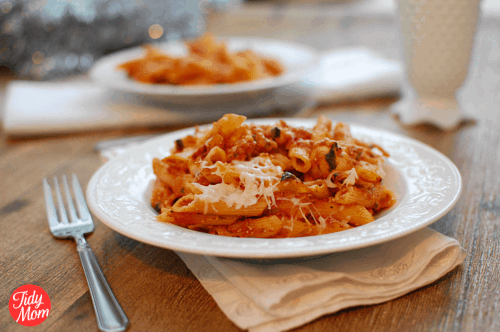 Chicken Penne Pasta Bake