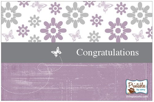 image regarding Free Printable Congratulations Cards referred to as Cost-free Printable Card
