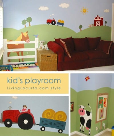 My Kids Playroom via LivingLocurto.com