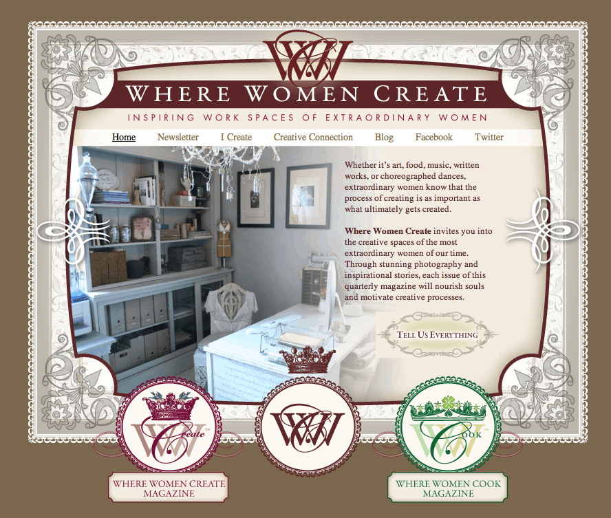 Where Women Create Feature & Giveaway