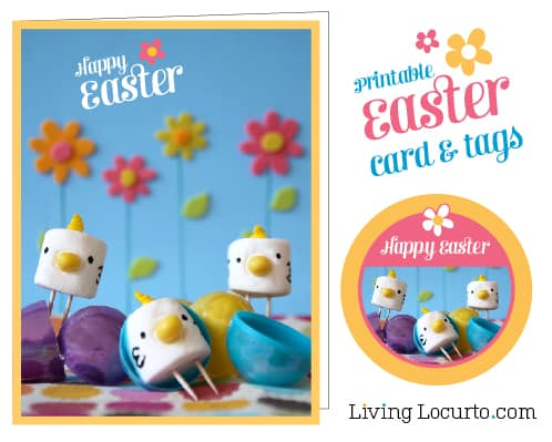 Easter Free Printable Cards and Tags | Living Locurto