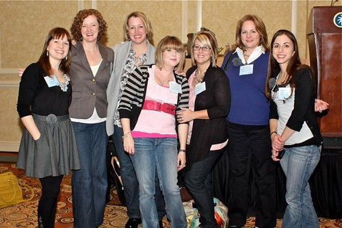 Food Bloggers from Blissdom