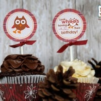 Owl Party Supplies - Printables