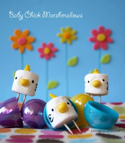 Marshmallow Easter Chick Treats