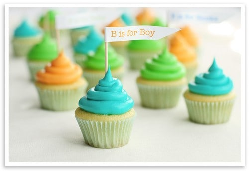 Baby Shower Cupcakes & More Baby Shower Recipe Ideas
