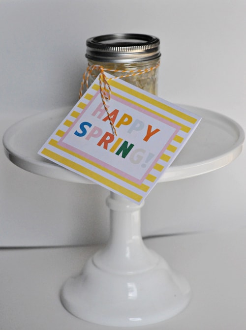 Homemade Lemon Curd Recipe | Free Printable Happy Spring Card LivingLocurto.com