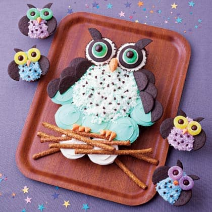 Owl Cupcakes from Family Fun