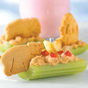 Healthy Snack Recipes for Kids - safari dip by BHG.com