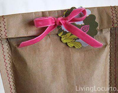 Homemade Gift Bag – Sewing Craft