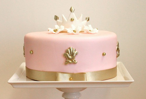 Crown Princess Cake