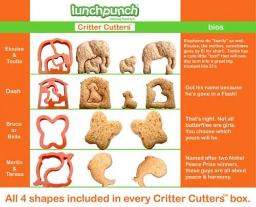 Lunch Punch Animals