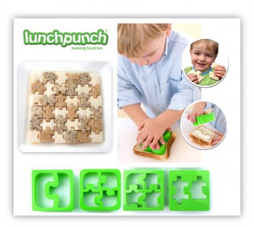 Lunch punch Match & Munch Puzzle cutters