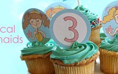 Mermaid Birthday Party {Update}