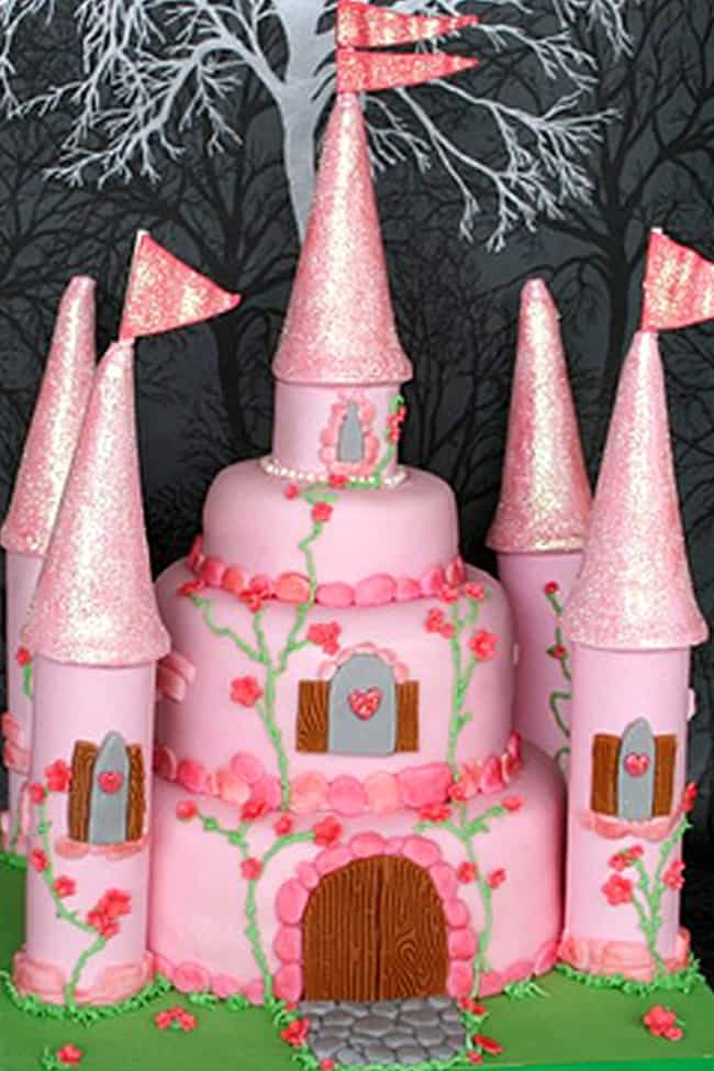 Cool Beautiful Princess Cakes Birthday Party Cake Ideas Funny Birthday Cards Online Alyptdamsfinfo