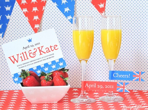 Royal Wedding Free Printables - Prince William and Kate Middleton