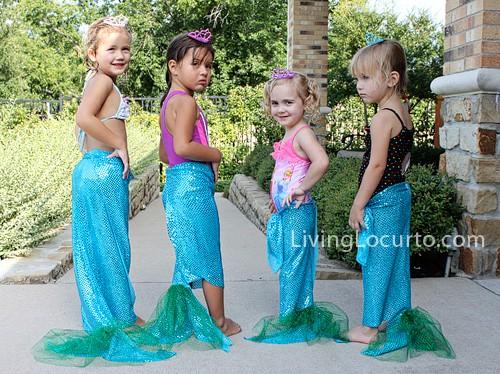 No Sew Mermaid Tails