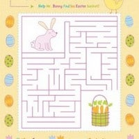 easter activity page