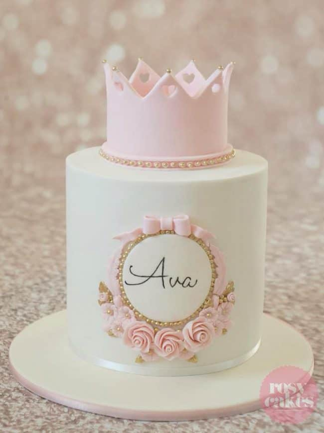 Stupendous Beautiful Princess Cakes Birthday Party Cake Ideas Personalised Birthday Cards Veneteletsinfo