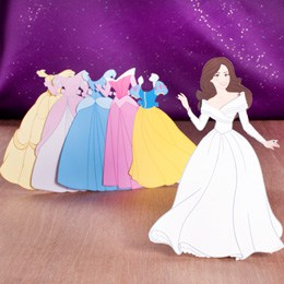 Kate Middleton paper doll printable