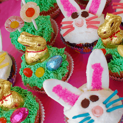 Easter Cupcakes & Fun Edible Crafts