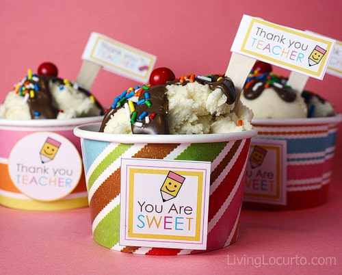Teacher Appreciation Cupcake Recipe