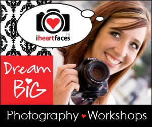 I Heart Faces photography workshop for women