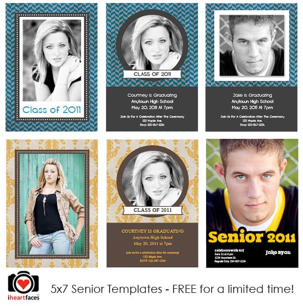 free photoshop templates for photographers - free graduation photoshop templates
