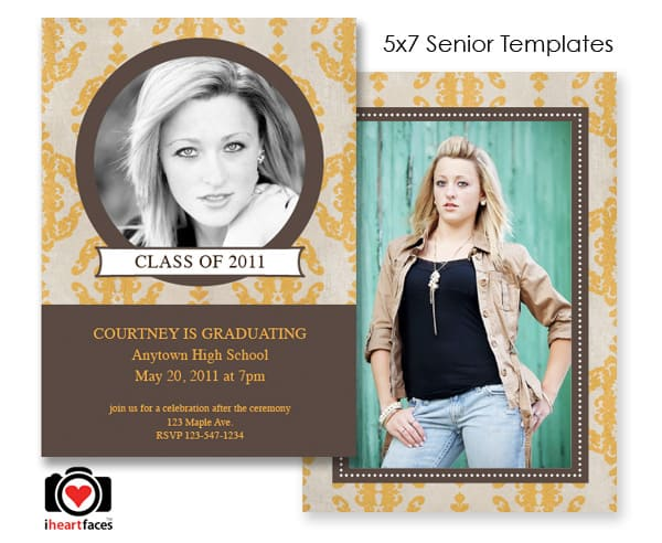 six high resolution graduation templates for photoshop and ps elements ...