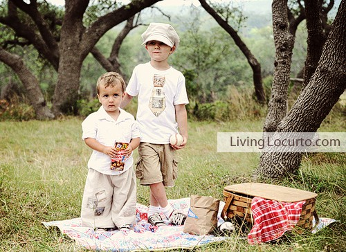 Vintage Baseball Party - Living Locurto