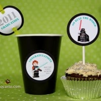 Star Wars Graduation Party {Free Printables}