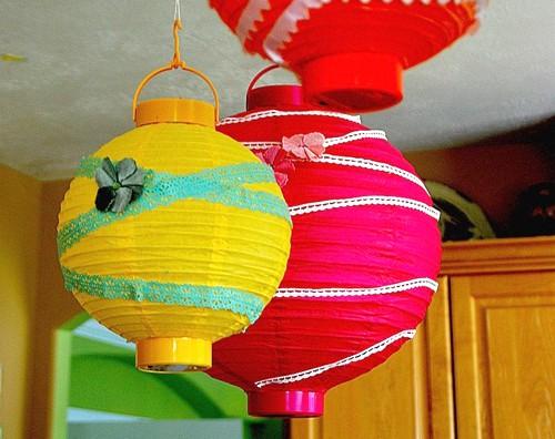 diy party lanterns