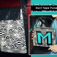 How to Make a Duct Tape Purse & Bracelet