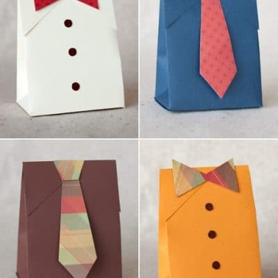 Father's Day Gift Boxes {Free Printables}