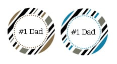 Father's Day Card & Tags - Free Printables by LivingLocurto.com