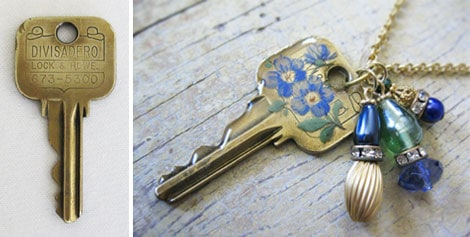 DIY Key Charm