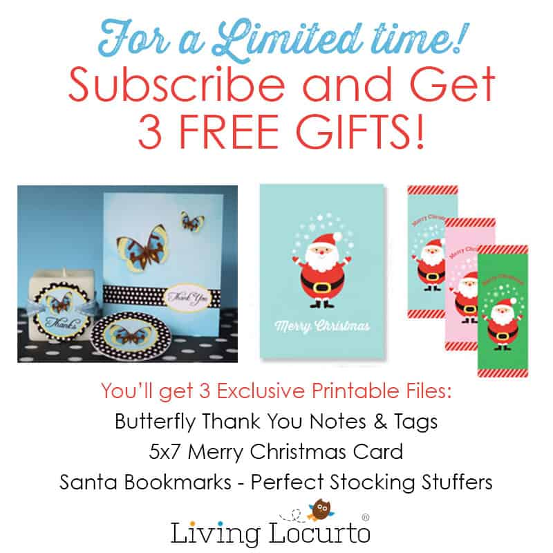 Subscribe to our Email Updates for Free Gifts!