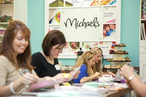 Michael's Store craft room