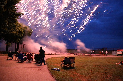 4th of July- Fireworks - The Pioneer Woman