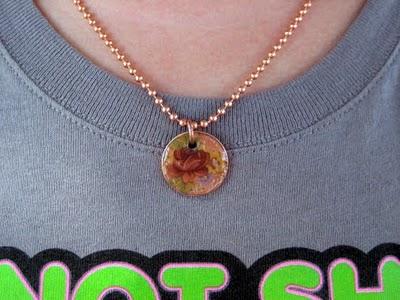DIY Penny Charm Necklace