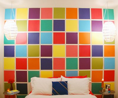 Home Project – DIY Paper Mosaic Wall
