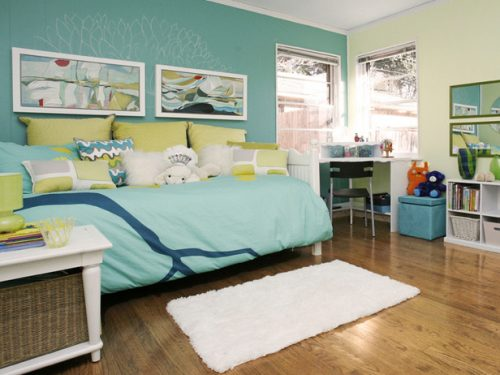 Leslie Ezelle - Blue Girls Room - HGTV Design Star