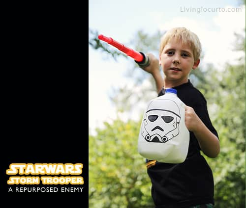 Star Wars Repurposed Craft for Kids