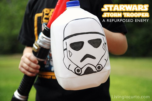 Star Wars Repurposed Craft for Kids | Living Locurto