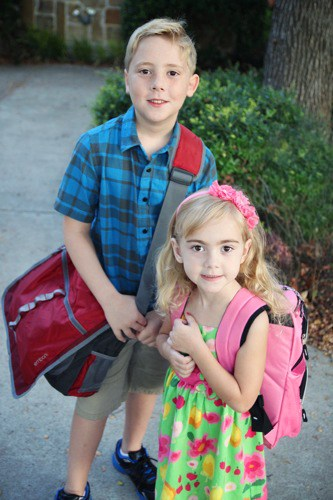 1st Day of School - © LivingLocurto.com