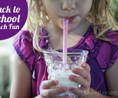 Magic Milk Straws – Back to School Treat