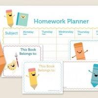 Free - Homework Planner