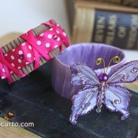 Kids Repurposed Craft - Bracelets