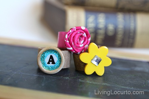 Cardboard Ring Crafts