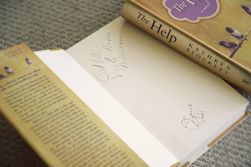 Autographed Copy of The Help Book