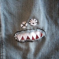 Sewing Tutorial - monster knee patch